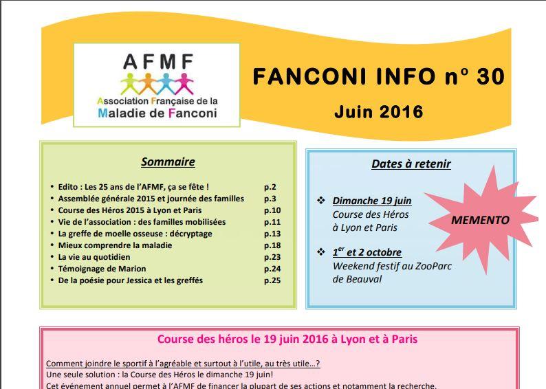 Image pour Fanconi info 30