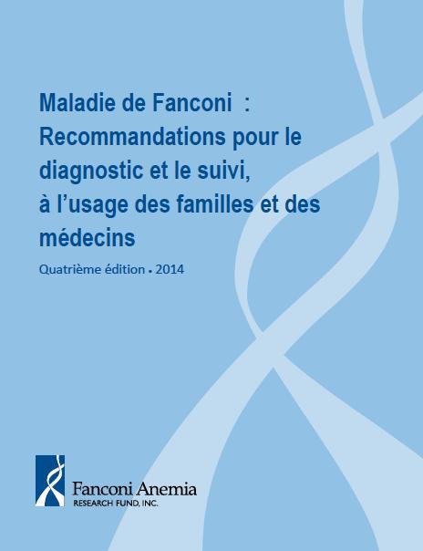 ere page du guide sur la maladie de Fanconi